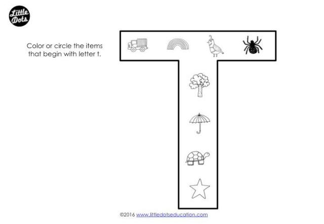 Preschool V Worksheets