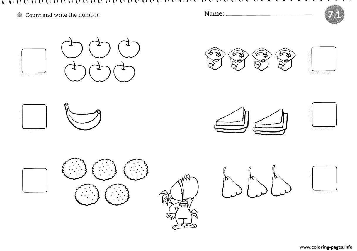 Preschool Worksheets 4 Year Old 1
