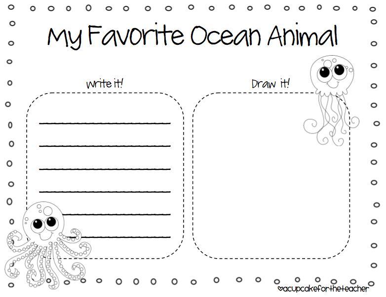 Preschool Worksheets Under The Sea 3