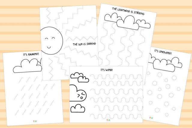 Preschool Worksheets Weather