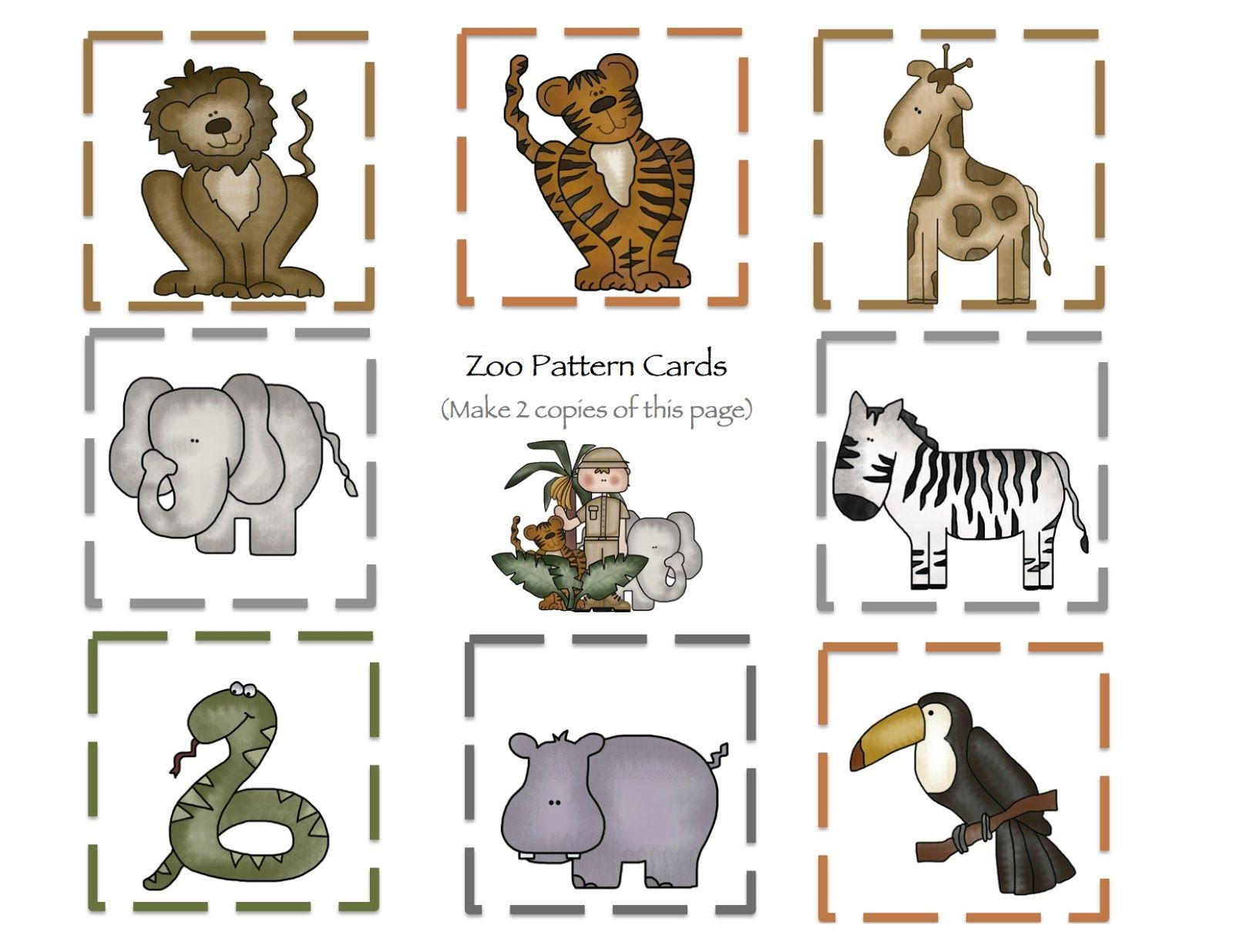Preschool Worksheets Zoo Animals 6