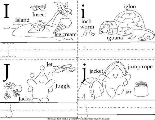 Preschool Writing Worksheets A-z For Beginners 16