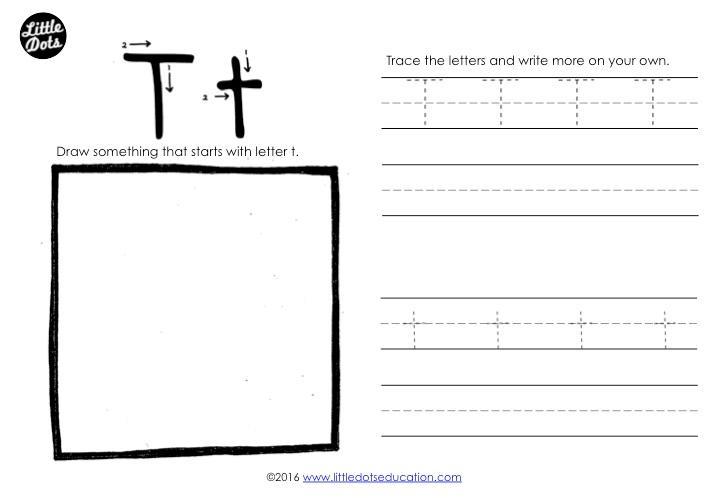 Upper And Lowercase Preschool Worksheets 1
