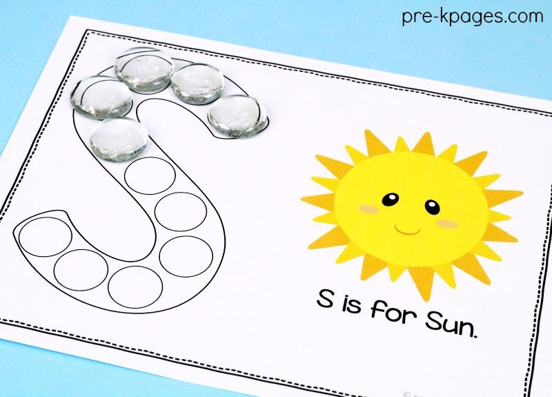 Vowel Letters Worksheets For Preschool