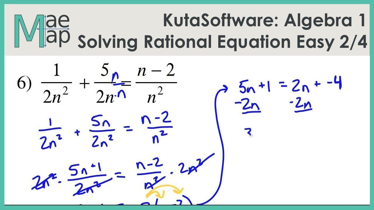 Kuta Math Worksheets Algebra 1