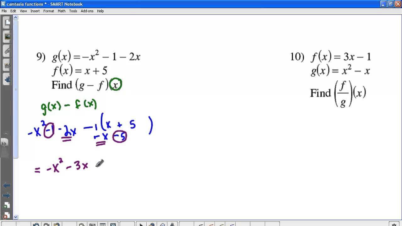Kuta Math Worksheets Algebra 2