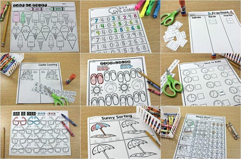 Math Journal Worksheets 6