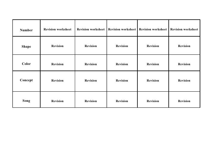 Math Sheets For Kg2
