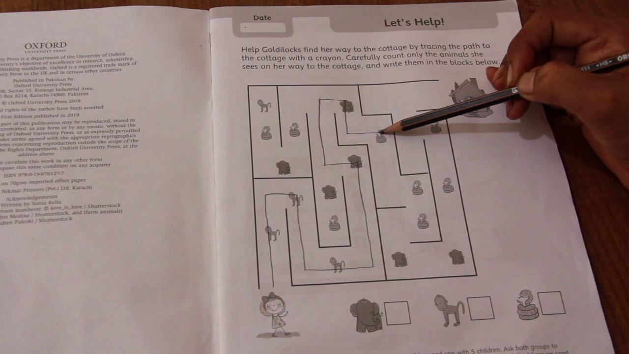 Math Sheets Kg2
