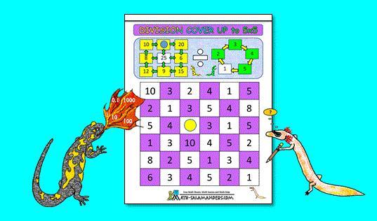 Math Worksheets Division 6