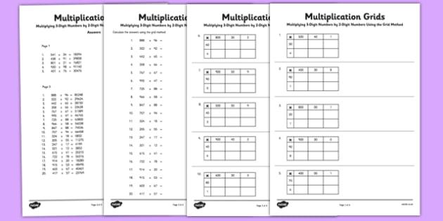 Math Worksheets Editable 7