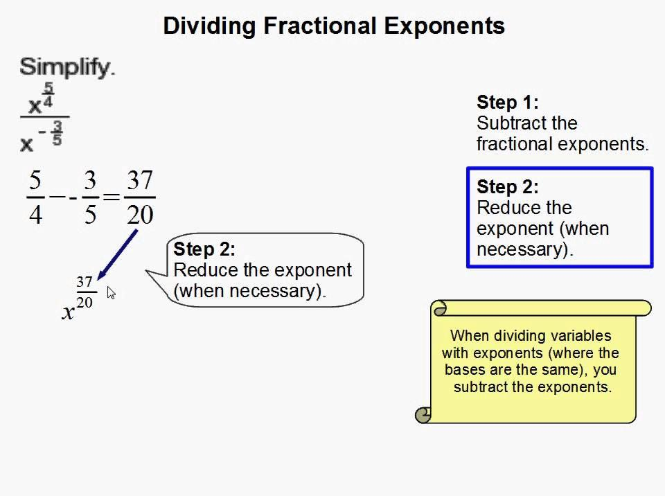 Math Worksheets Exponents 4
