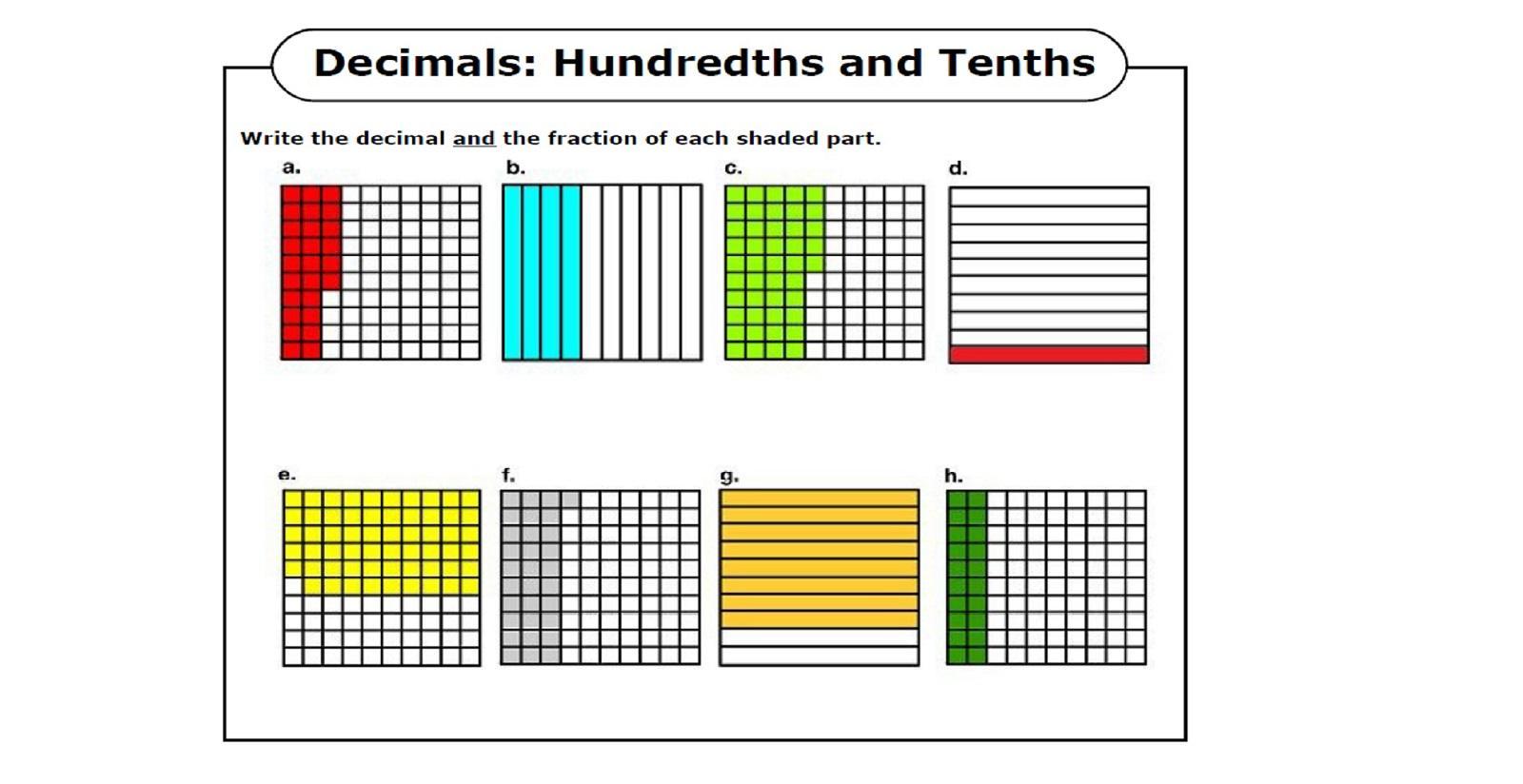Math Worksheets For Grade 4 5