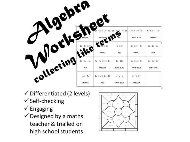 Math Worksheets For Junior High Students