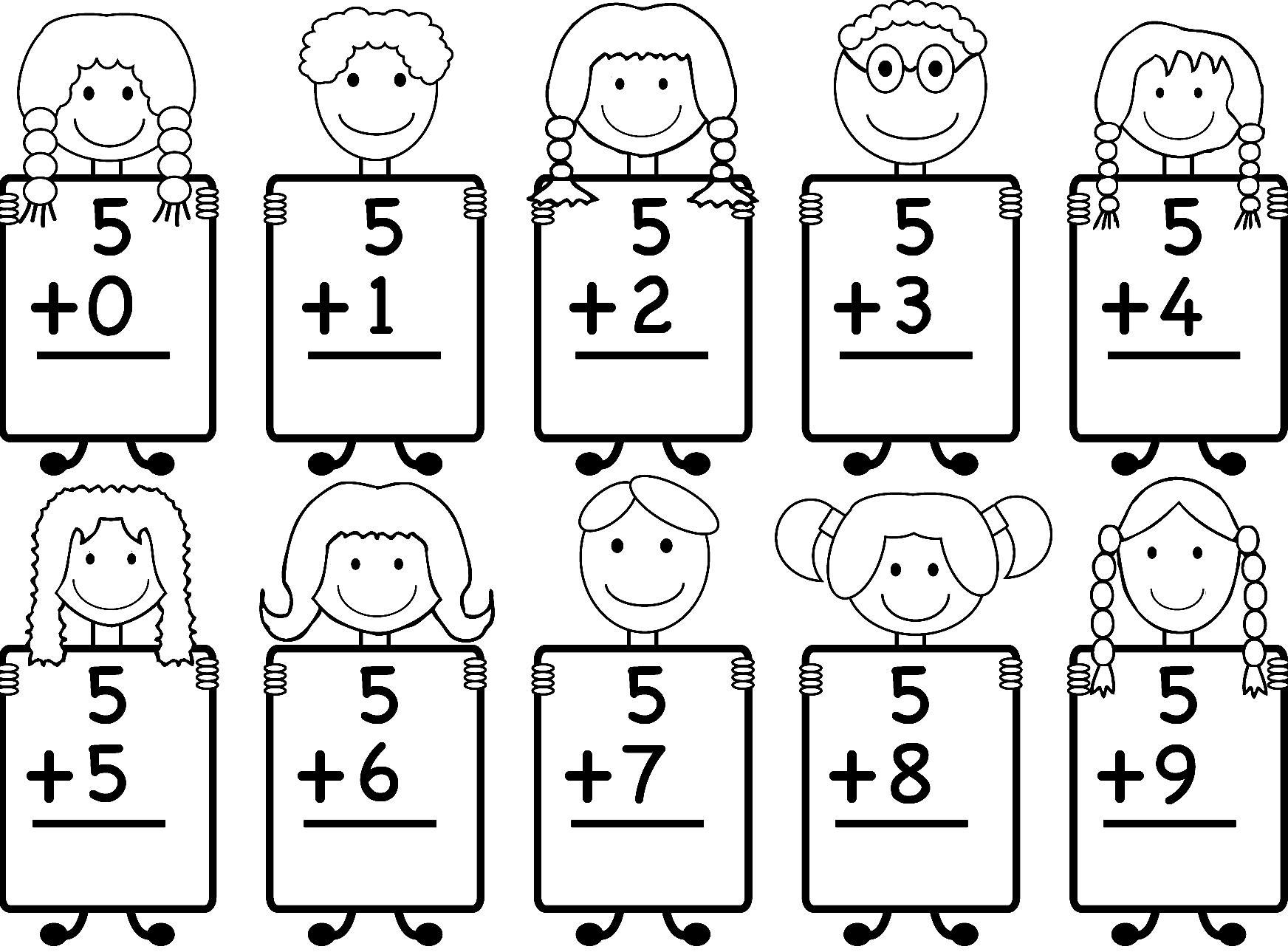 Math Worksheets Jk 2