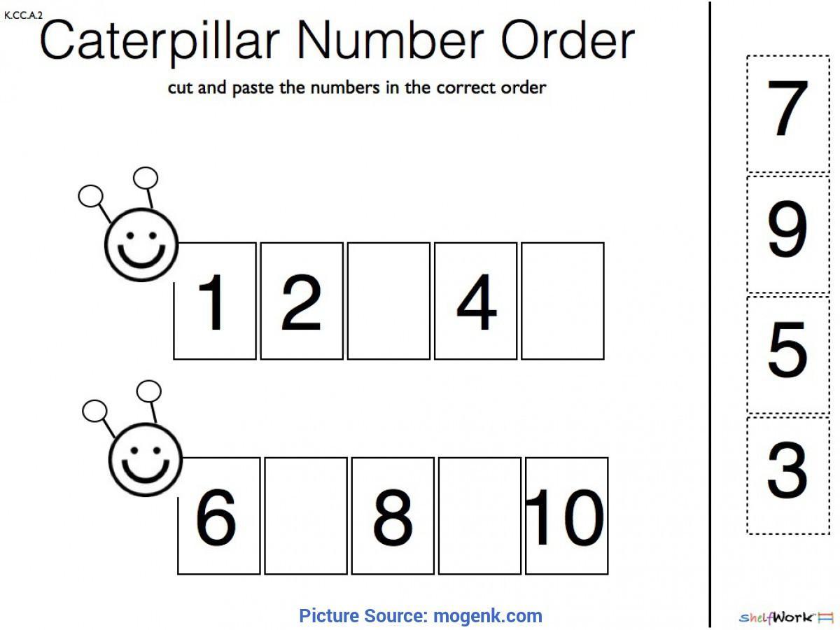 Math Worksheets Kindergarten Numbers 1-30