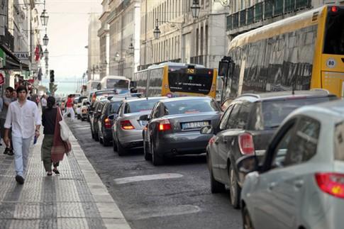 Valores de Poluição em Lisboa baixam, mas mantêm-se acima do recomendado
