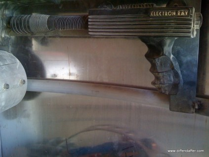 One of my rayguns: the Electron Ray.