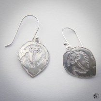 Fine Silver Earrings: Available soon at Steadcraft.com