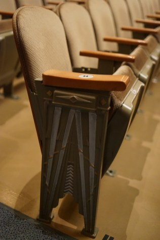 Spokane Fox Theater seats