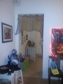 Halloween 2013-Left entrance into Kitchen from Dining Room.