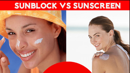 Difference Between Sunblock and Sunscreen