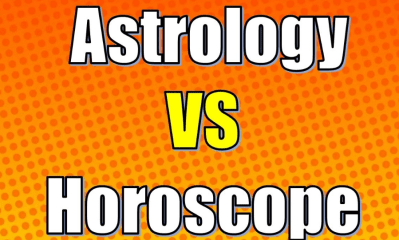 Difference between Horoscope and Astrology