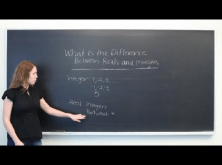 Difference between Real and Rational Numbers