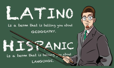 Difference between Hispanic and Latino