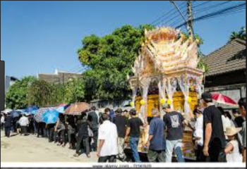 Difference between Parade and Procession