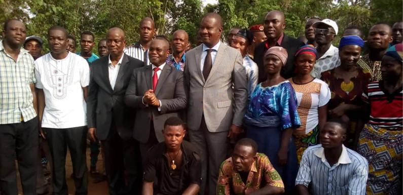 Ouémé : le ministre Serge Ahissou rassure les populations de la concrétisation des projets par le Gouvernement béninois