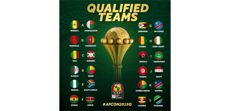 1ère CAN à24 équipes – Egypte 2019 :les Écureuils ont confirmé leur qualification face aux Éperviers