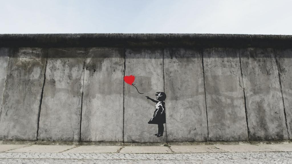 Banksy, Street art, Graffiti, Girl with a Red Balloon