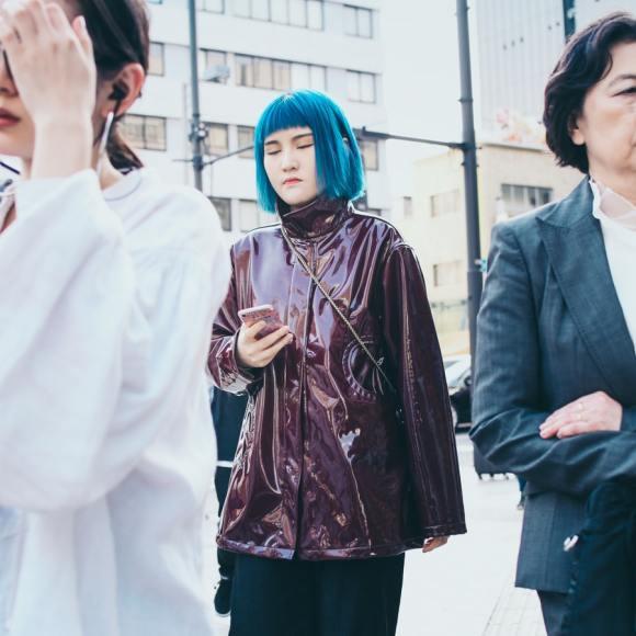 Chinese women of three generations