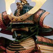 Samurai helmet