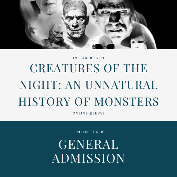Unnatural History of Monsters - General admission tickets