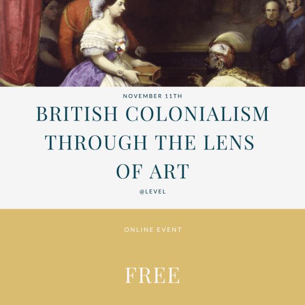British colonialism through art - free tickets