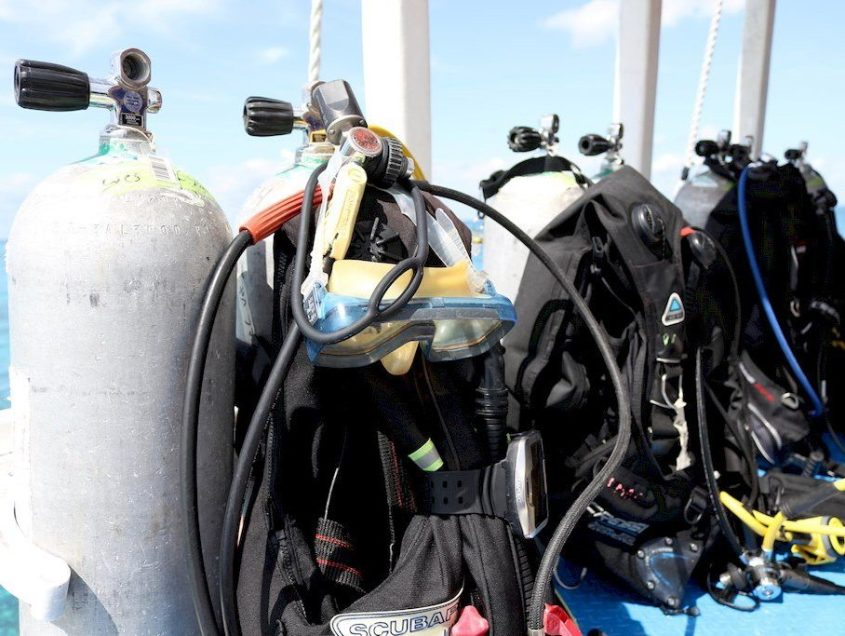 10 things to do to maintain my scuba gear
