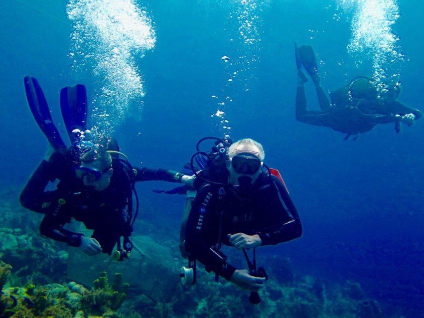 Plongée sous-marine : une question de poids ?