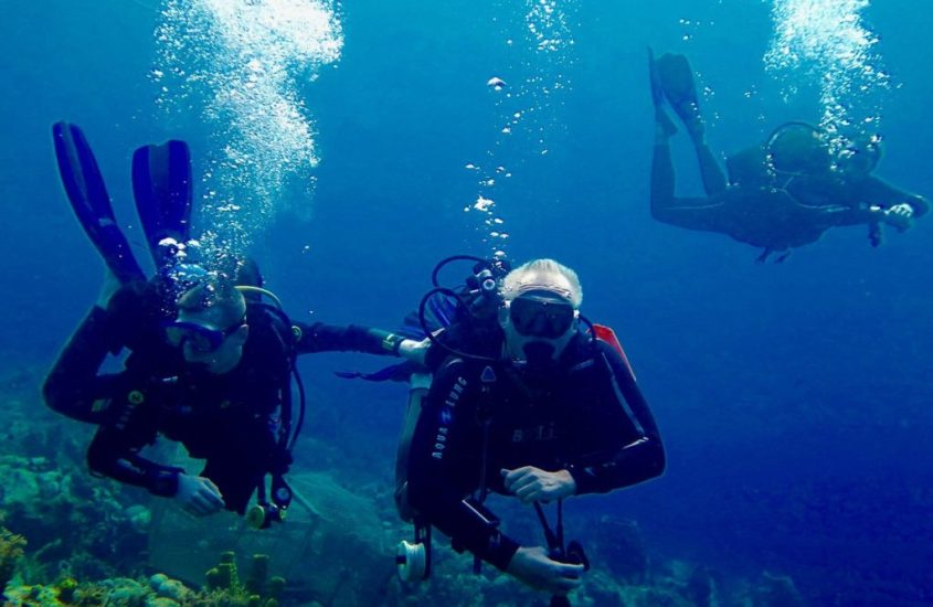 Scuba diving : a question of weight