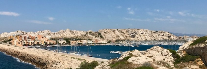 L'île du Frioul peut faire partie de votre programme si vous décidez de visiter Marseille sans plonger.