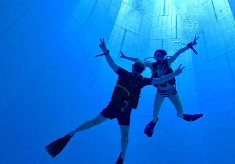 Work in the world of diving by creating your own project ?