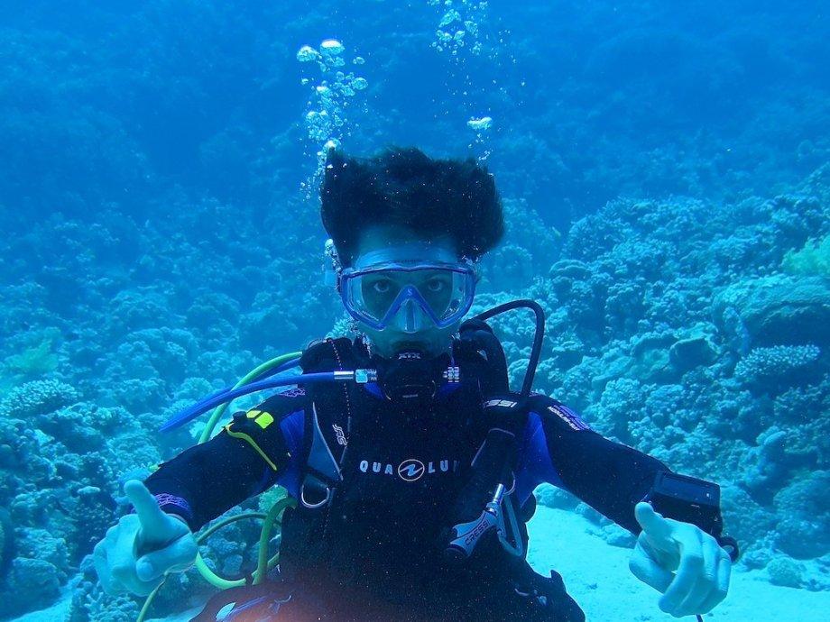 Hélène décide de créer un blog de plongée
