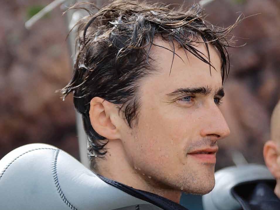 Pierre-Yves Cousteau, le fils du Commandant Cousteau.