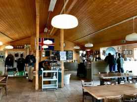 Cafétaria des volcans hu de Porsmork