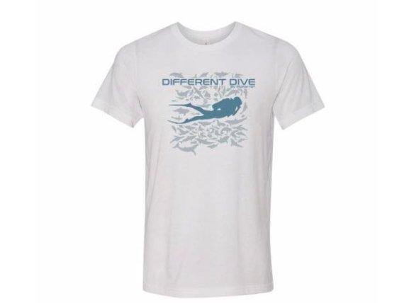 T-shirt Different Dive by Mokarran