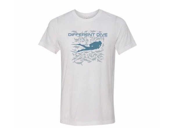 T-shirt Different Dive by Mokarran