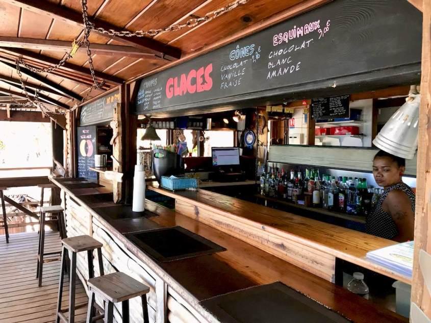 Le bar de l'hôtel O'lolo à Mayotte
