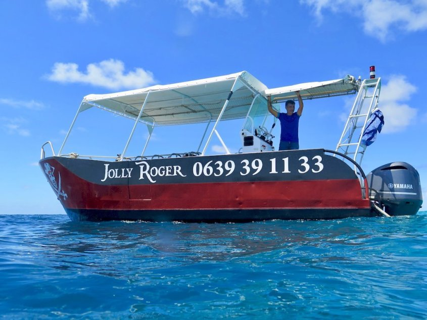 Le centre Jolly Roger permet de plonger à Mayotte dans la passe en S
