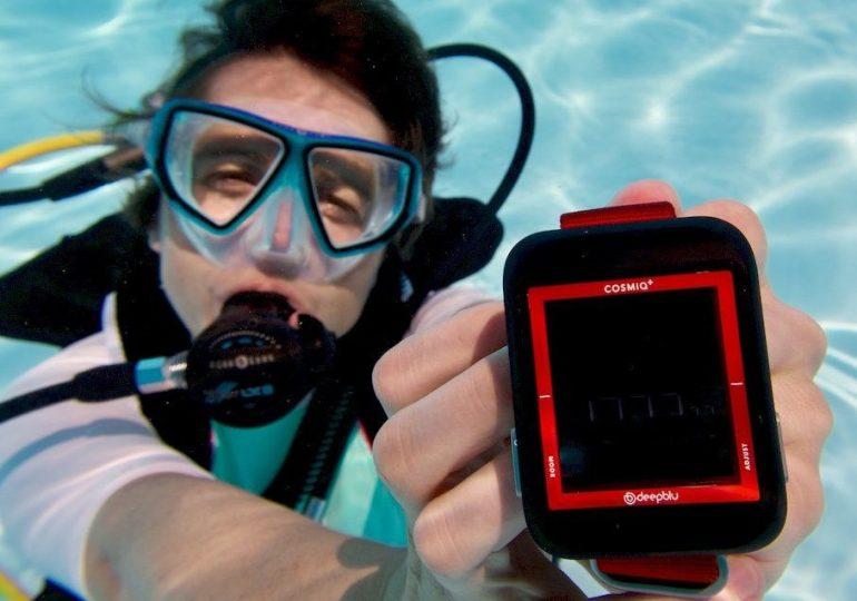 COSMIQ+ : un ordinateur de plongée vraiment connecté ?